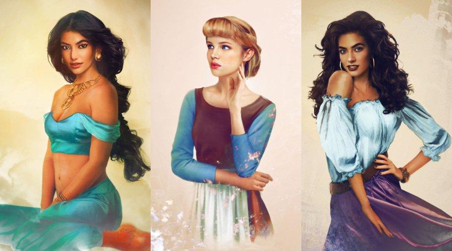 [Zone 42]  Disney Princes and Princesses sont plus réels que la vie