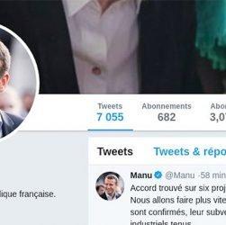 Les extensions Google Chrome proposent à Emmanuel Macron de remplacer Manu!