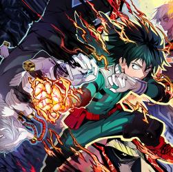 My Hero Academia: Le héros et le méchant de la même famille? La théorie est confirmée