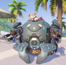 Overwatch: Blizzard dévoile son nouveau héros, et hamster dans et méca de combat