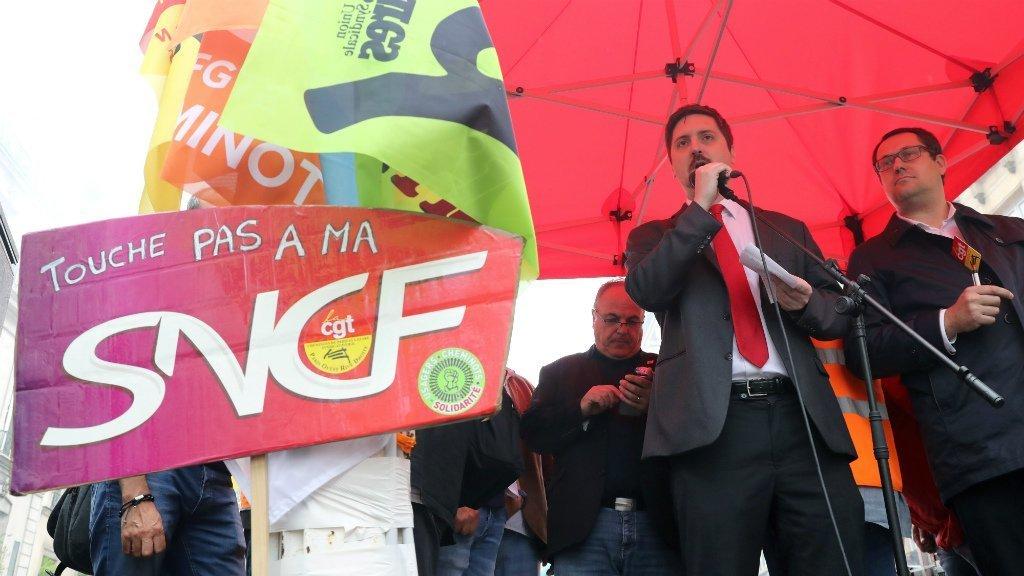 SNCF: Cheminots de la CGT prévoit de poursuivre la grève en juillet