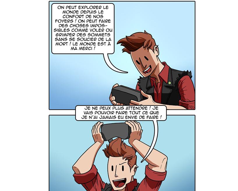 [Zone 42]  Sad Existence Jeux en Réalité Virtuelle (BD)