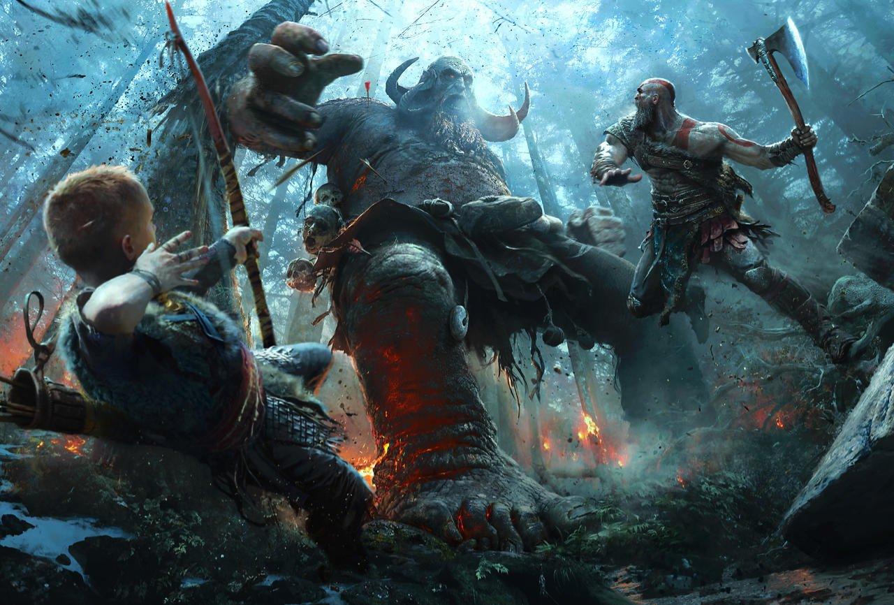 God of War: et la révélation du concept d'art dans la file d'attente aurai puessembler le jeu est arrivé en Egypte