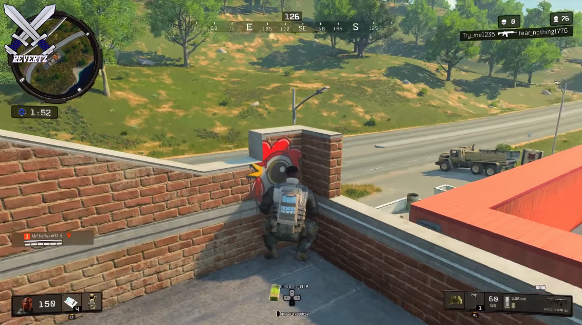 Black Ops 4: Bien cachés derrière les murs et les arbres, les joueurs utilisent des émotes pour ne pas voir