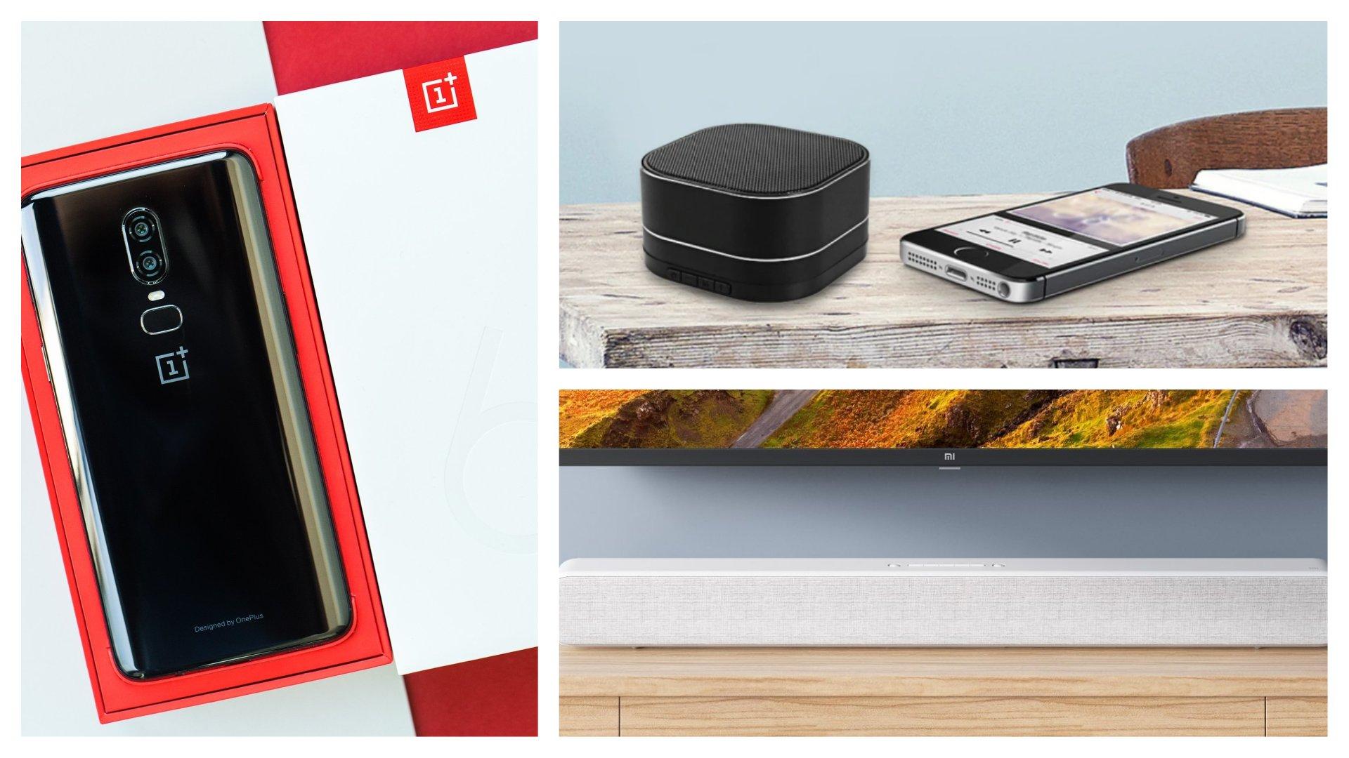 OnePlus 6, un tuner TV intéressant, un mini haut-parleur portable, la bande son est au cœur de ce choix.