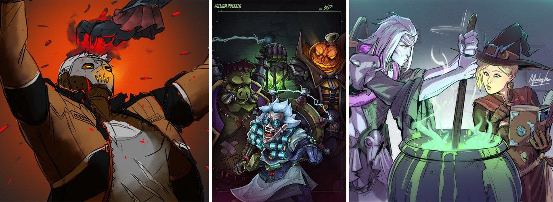 "[Zone 42]  ""Overwatch"": Les joueurs sortent de la nouvelle skin d'Halloween"