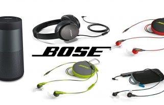 Black Friday: haut-parleurs, écouteurs et casques Bose à bas prix sur Amazon
