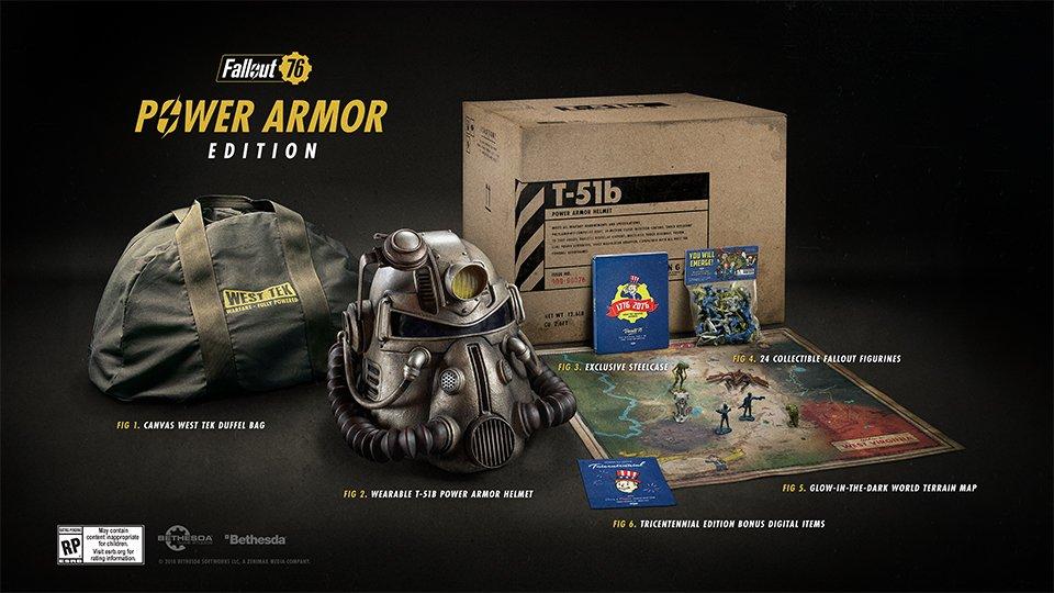 [Zone 42]  Fallout 76: Ceux qui ont commandé Power Edition Edition l'ont compris!