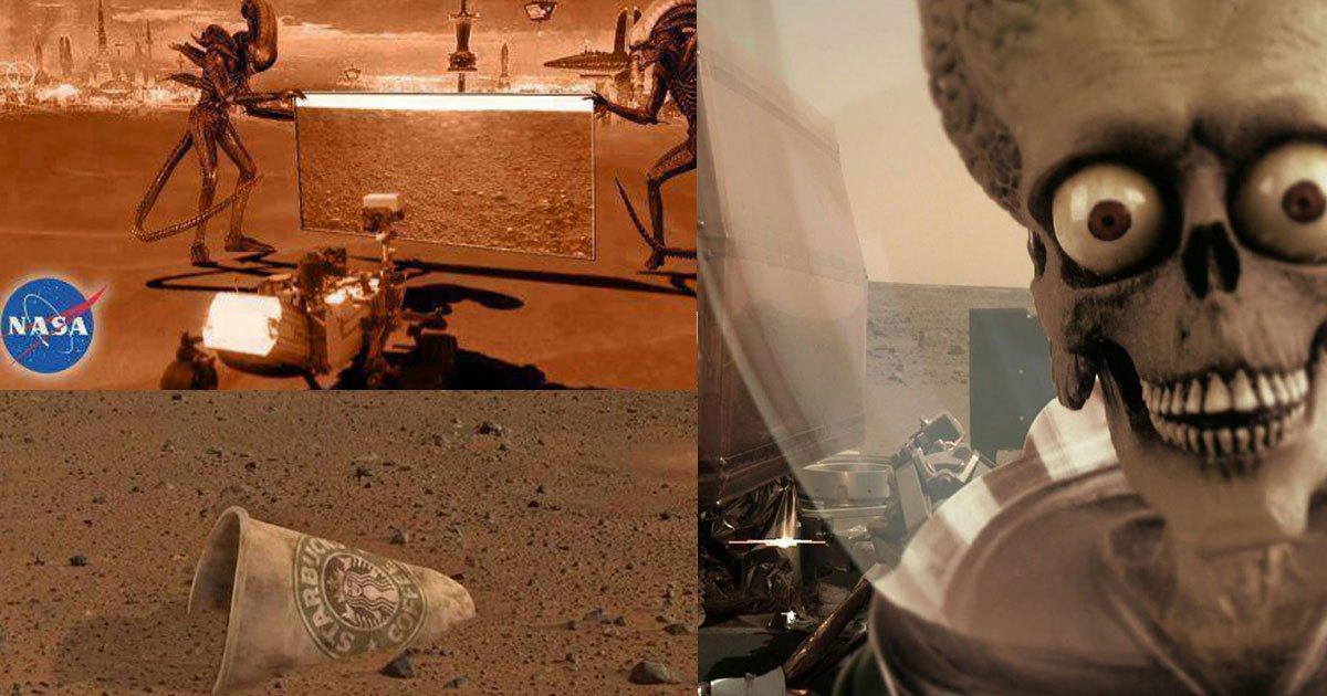 [Zone 42]  Quand les gens s'amusent sur l'atterrissage de la sonde Mars InSight