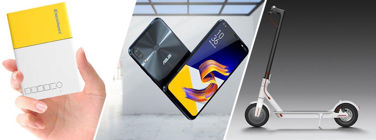 """""""Asus Zenfone 5"""" à vendre, flash, scooter électrique Xiaomi, appareil photo 4K """"360 °"""" séduisant, un choix qui sent de bonne qualité."""