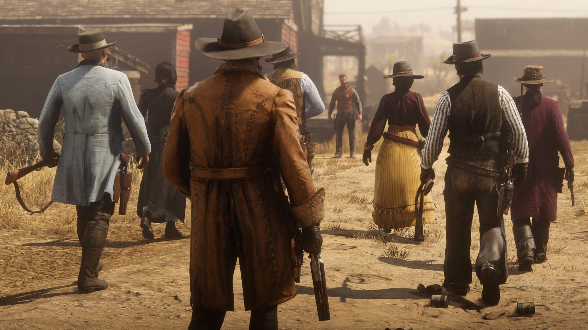 Red Dead Online: Rockstar n'a pas pour objectif de corriger ses progrès dans la version bêta.