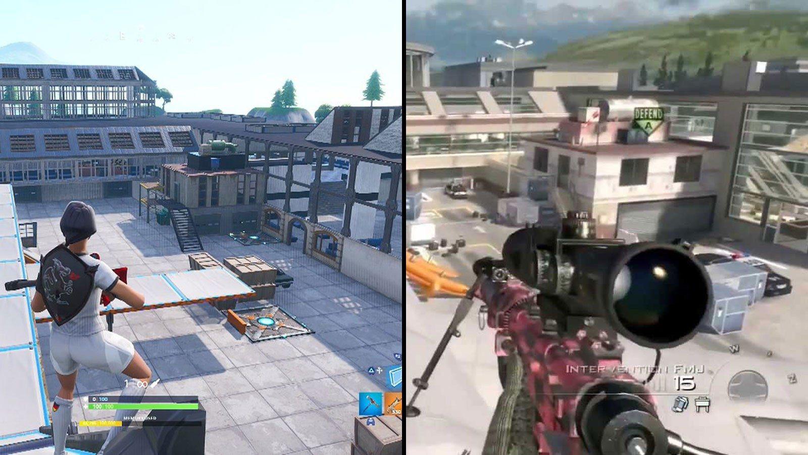 Fortnite: découvrez le légendaire terminal pour la carte Modern Warfare 2!
