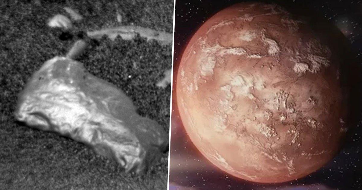 La NASA découvre un étrange objet brillant à la surface de Mars