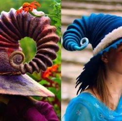 [Zone 42]  Découvrez le magnifique chapeau de cette artiste américaine, sorcellerie et sorcières