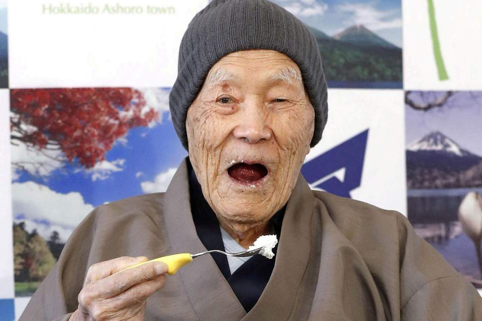 Masazo Nonaka, le plus ancien monde japonais, vient d'éteindre sa 113