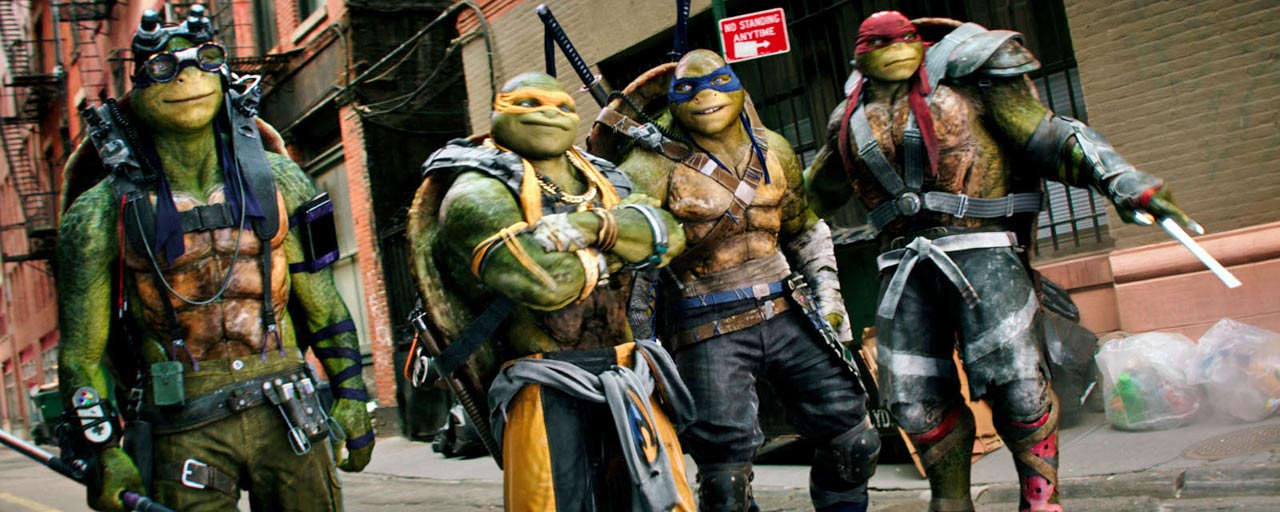 Tortues Ninja: Paramount Pictures surcharger